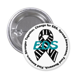 Ehlers-Danlos Syndrome #ChangeForEDS Cause Button