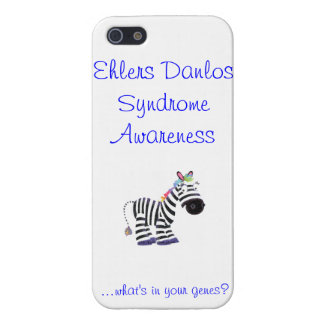 Ehlers Danlos Syndrome iPhone 5/5S Cases