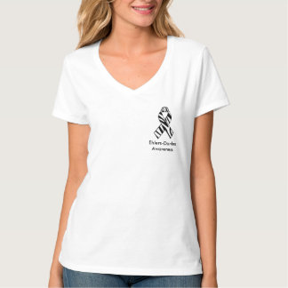 Ehlers Danlos Zebra Print Awareness Ribbon Shirt