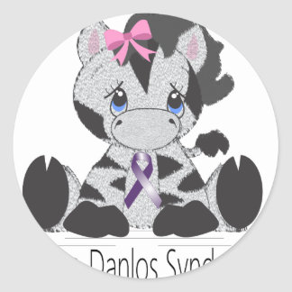 Ehlersdanlossyndrome.png Round Stickers