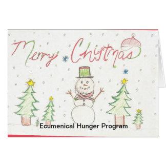 EHP Holiday Card 001,  Ecumenical Hunger Program