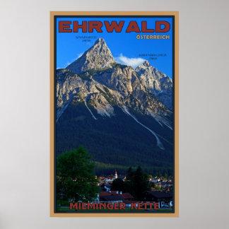Ehrwald, Austria Poster