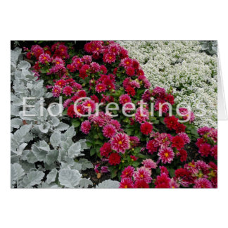 Eid greeting greeting card
