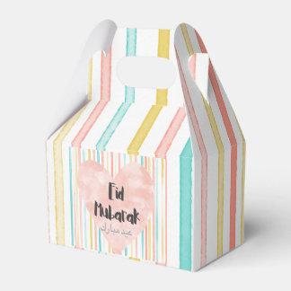 Eid Mubarak Favor Box (Pastel)