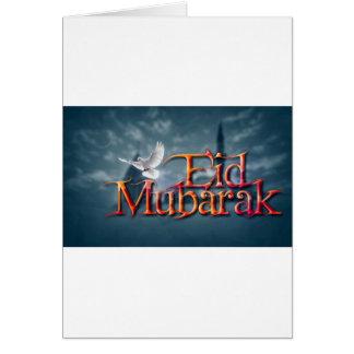 Eid-Mubarak. Greeting Card