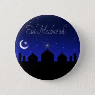Eid Mubarak - Islamic Greeting Button