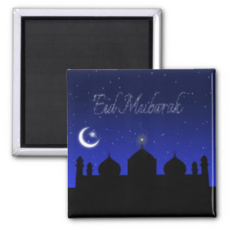 Eid Mubarak - Islamic Greeting Magnet