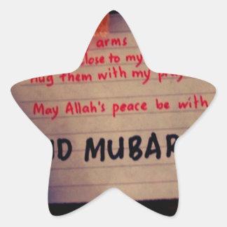 eid-mubarak star sticker