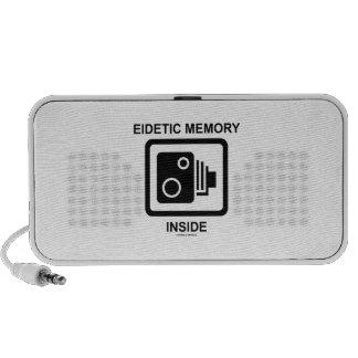 Eidetic Memory Inside (Camera Sign Photographic) Mp3 Speaker