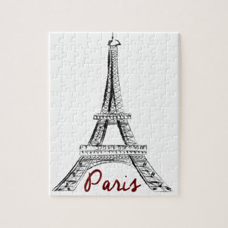 Eifel Tower - Paris Jigsaw Puzzle
