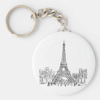 Eifel Tower Paris Key Ring