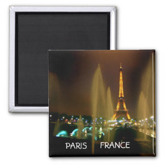 EIFFEL AT NIGHT MAGNET