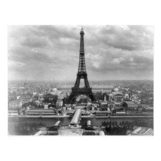 Eiffel tour post cards