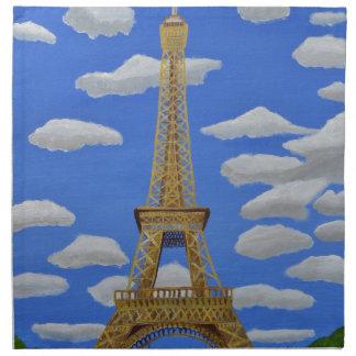 Eiffel Tower2.JPG Napkin