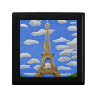 Eiffel Tower2.JPG Small Square Gift Box