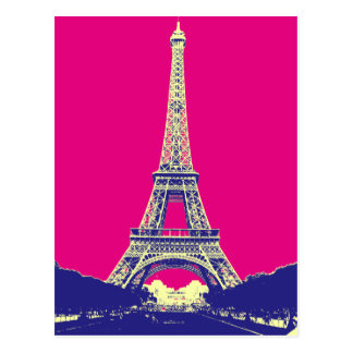 Eiffel Tower 2 Postcard