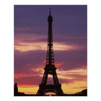 Eiffel Tower 2 Poster