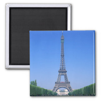 Eiffel Tower 3 Square Magnet
