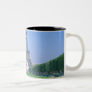 Eiffel Tower 3 Two-Tone Coffee Mug