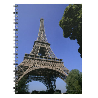 eiffel tower 5 notebook