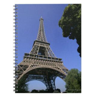 eiffel tower 5 notebooks