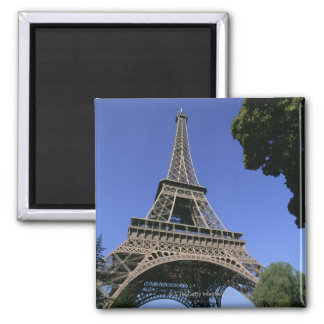 eiffel tower 5 square magnet