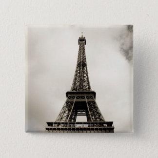 Eiffel Tower 8 15 Cm Square Badge