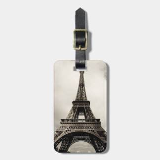 Eiffel Tower 8 Luggage Tag