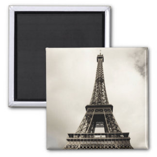 Eiffel Tower 8 Square Magnet