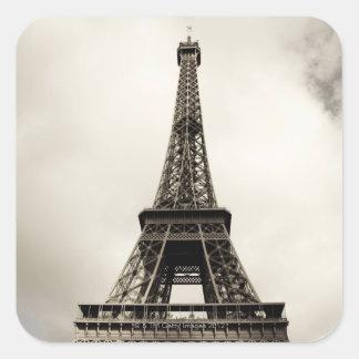 Eiffel Tower 8 Square Sticker