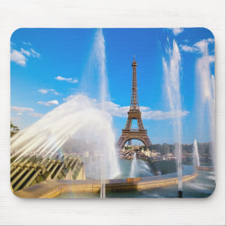 Eiffel Tower and Fountain, Paris, France Mouse Mat