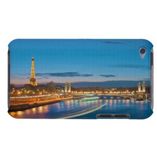 Eiffel Tower and Pont Alexandre III at Night iPod Touch Case-Mate Case