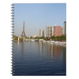 EIFFEL tower and SEINE river Notebooks