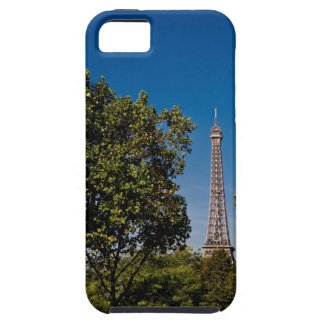 Eiffel Tower and trees, Paris, france Tough iPhone 5 Case