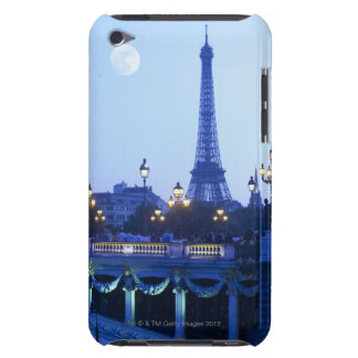 Eiffel Tower at Dusk iPod Case-Mate Case