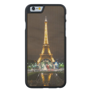 Eiffel Tower at Night, Paris Carved Maple iPhone 6 Case