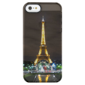 Eiffel Tower at Night, Paris Clear iPhone SE/5/5s Case