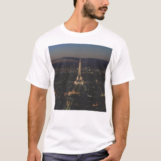 Eiffel Tower at Night - T-Shirt