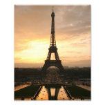 Eiffel Tower at Sunrise from the Trocadero Art Photo
