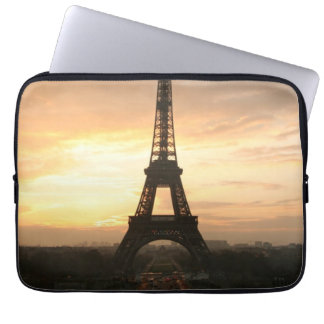 Eiffel Tower at Sunrise from the Trocadero Laptop Computer Sleeves