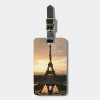 Eiffel Tower at Sunrise from the Trocadero Luggage Tag