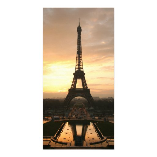Eiffel Tower at Sunrise from the Trocadero Photo Card