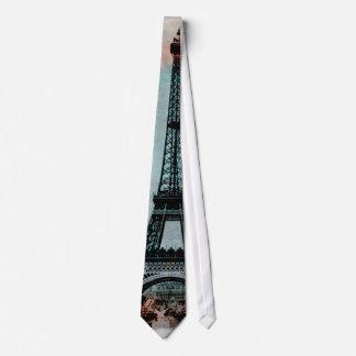 Eiffel Tower at Sunrise Tie