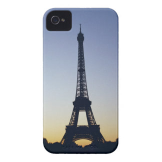 Eiffel Tower at sunset iPhone 4 Case-Mate Case