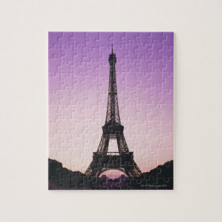 Eiffel Tower at Sunset Jigsaw Puzzle