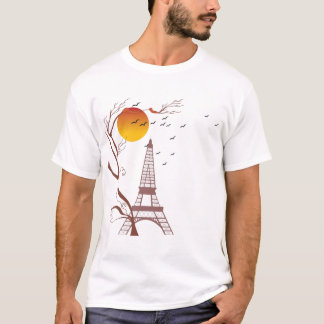 Eiffel tower, autumn T-Shirt
