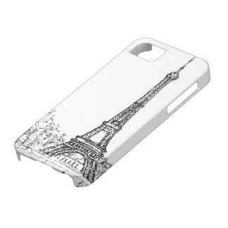 Eiffel Tower Barely There iPhone 5 Case