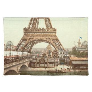 Eiffel Tower Base, Paris, France Place Mat