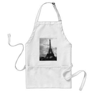 Eiffel Tower Black tone Standard Apron