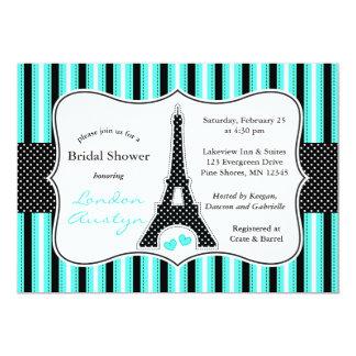 Eiffel Tower Bridal Shower Invitations │ Tiffany